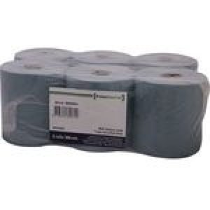 Prime Source Poetsrol 1 laags blauw 300 meter tissue