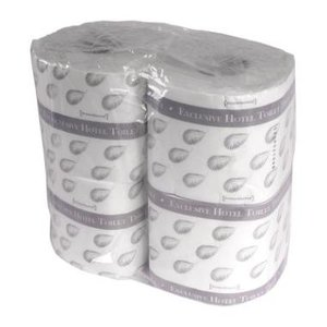 Toiletpapier hotel 2 laags tissue 95x110mm 350vel Primesource
