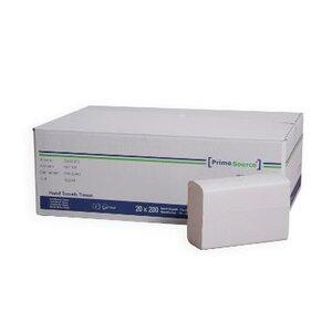 Handdoek i vouw wit 2 laags 203x240mm cellulose Primesource